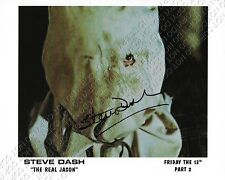 REPRINT 8x10 SIGNED AUTOGRAPHED PHOTO PICTURE FRIDAY THE 13TH 2 STEVE DASH JASON