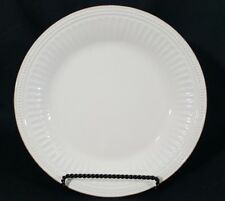 1 Lenox French Perle Groove White Dinner Plate NWT