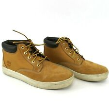 Timberland Men's US Size 10 Mid Chukka Boot Lace Up Casual Tan Brown 6921B