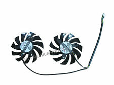 75mm NEW for MSI GTX 560 570 R6950 Video Card Dual CPU Cooling Fan PLD08010S12HH