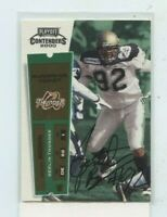 JONATHAN BROWN 2000 Playoff Contenders European Ticket Auto Autograph #152