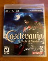 PlayStation 3 Brand New Factory Sealed Konami Castlevania Lords Of Shadow PS3