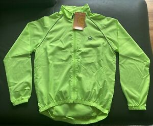 CANARI Men's Microlight Shell Jacket 1711 Killer Yellow L NWT