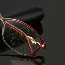 Smart zoom reading glasses progressive multi-focus Computer Anti blue ray