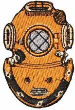 "Scuba Diving Mark-v 5 Deep Sea Dive Helmet Logo Emblem Iron on Patch 3"" Ocean"