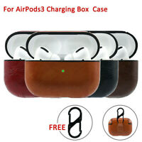For Apple AirPods Pro Leather Wireless Charging Case Protective Cover~