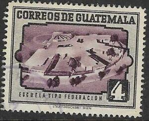 1ww0722 Guatemala Stamp 4c MNG