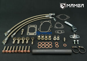 Turbo Install Kit For Nissan SR20DET Silvia S13 S14 S15 TM w/ Garrett GT2876R UK