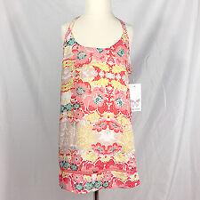 NWT Ella Moss Floral Print Spaghetti Strap Top Girls' Size 12