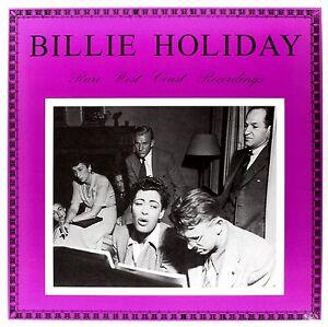 Billie Holiday : Rare West Coast Recordings - Album Vinyle (33 Tours) LP