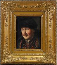 Ulmer, Porträt einer alten Frau, Öl/Holz,7860167