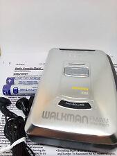 Sony Walkman WM-FX171 Personal Stereo FM AM Radio Cassette Tape Player - SILVER