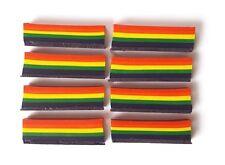 8 x Rainbow Crayons ** Children's Art + Craft **