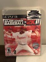 Major League Baseball MLB 2K11 Game PlayStation 3 PS3  ***NEW FACTORY SEALED***