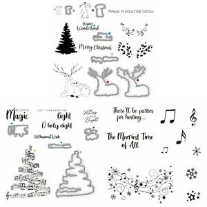 Thirsty Brush Co. - Festive Collection, 3 x A5 Stamp Sets & 2 x Die Sets