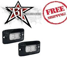 Rigid Industries SR-M Flush Mount Back Up Light Kit - Diffused White LED Lights