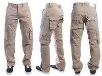 Brand New ETO Mens Cargo Combat Jeans Chino Denim Trousers Pants All Waist Sizes