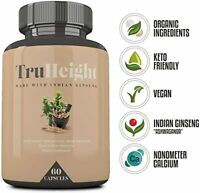 TruHeight Supplement 4 Natural Bone Growth w/Indian Ginseng 60 Capsules Exp 4/22