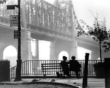 Woody Allen Diane Keaton Manhattan 16X20 Canvas  Classic Queensboro Bridge Scene
