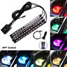 12V LED RGB Car Interior Atmosphere Light Strip Bar Multicolour APP  Control