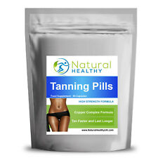 TAN BOOSTER - HIGH STRENGTH TAN & SLIM - NATURAL HEALTHY TANNING PILLS