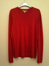 Armand Diradourian for Paul Smith Red 100% Cashmere Jumper (L) RRP £499