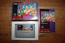 Jeu Super Punch-Out !! Super Nintendo SNES en boite complet