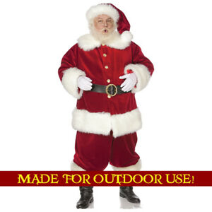 SANTA CLAUS Plastic Outdoor YARD SIGN Lifesize Christmas Standee Standup F/S