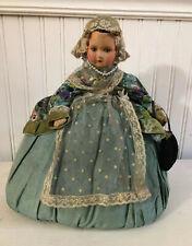 Antique doll tea cozy Silk French Lace Pretty!