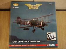 Corgi AA36304 RAF Coastal Command Fairey Swordfish III 1945 Ltd Ed. 0002 of 2640