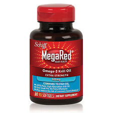 MegaRed 500mg Omega-3 Krill Oil Dietary Supplement (90 ct.)