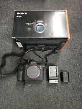 Sony a7 III ILCE-7M3 Full-Frame Mirrorless Camera Body, Black
