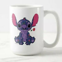Disney Parks 2021 Stitch Crashes Disney Beauty And The Beast Coffee Mug New