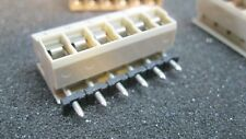 6 PCS 6-Pin PCB Mount 5mm (0.197in) Pitch Screw Terminal Block Connector Panel