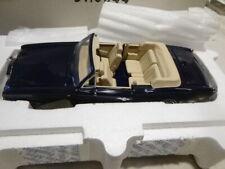 A Franklin mint  1993 Rolls Royce Corniche IV Anniversary.  boxed