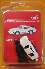 Herpa 013307 Herpa MiniKit Porsche 911 Turbo weiß Scale 1 87 NEU OVP