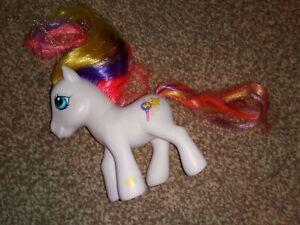 Hasbro My Little Pony G3 Puzzlemint - White Pony with Puzzle Mark