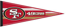 San Francisco 49ers Football Team NFL Pennant WinCraft Newest Style 2016 USA