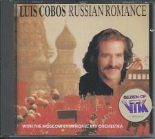 LUIS COBOS - Russian Romance CD Album 9TR (CBS) HOLLAND RARE!