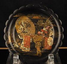 Coupelle festonnée en laque Chine circa 1900 China Cup scalloped lacquer 杯扇形漆中国