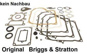 Original Dichtsatz Dichtungssatz Briggs Stratton 495993   Rasentraktor Motor