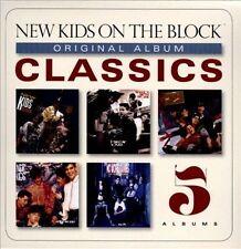 Original Album Classics [Box] by New Kids on the Block (CD, 2013, 5 Discs, Columbia (USA))