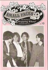 SMALL FACES - THE DARLINGS OF WAPPING WHARF LAUNDERETTE  MAGAZINE NUMBER 10  MOD