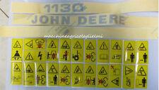 Serie Decalcomania-Adesivi Per Trattore John Deere 1130..