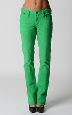 Ralph Lauren Womens Jeans Madison Boot Green Pants Gift For Her NWT