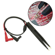 SMD Inductor Test Lead Clips Probe Tweezer Multimeter LCR Chip Component Testers