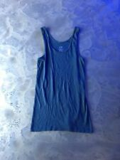 Mossimo Blue Studded tank Top Size L Large Fall Spring A10 22