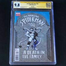 Amazing Spider-Man #700 💥 CGC SS 9.8 SIGNED STAN LEE 💥 4TH PRINT VARIANT 2013