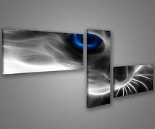 Quadri moderni astratti 180 x 70 stampe su tela canvas con telaio MIX-S_168