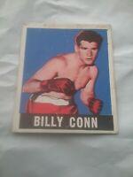 Leaf Gum Co Billy Conn #47 Original 1948 Boxing Card.